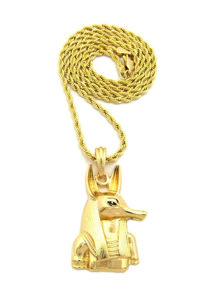 14k Gold Anpu Anubis