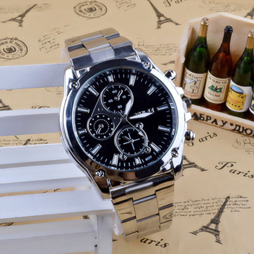 Stainless Steel Band Machinery Watch
