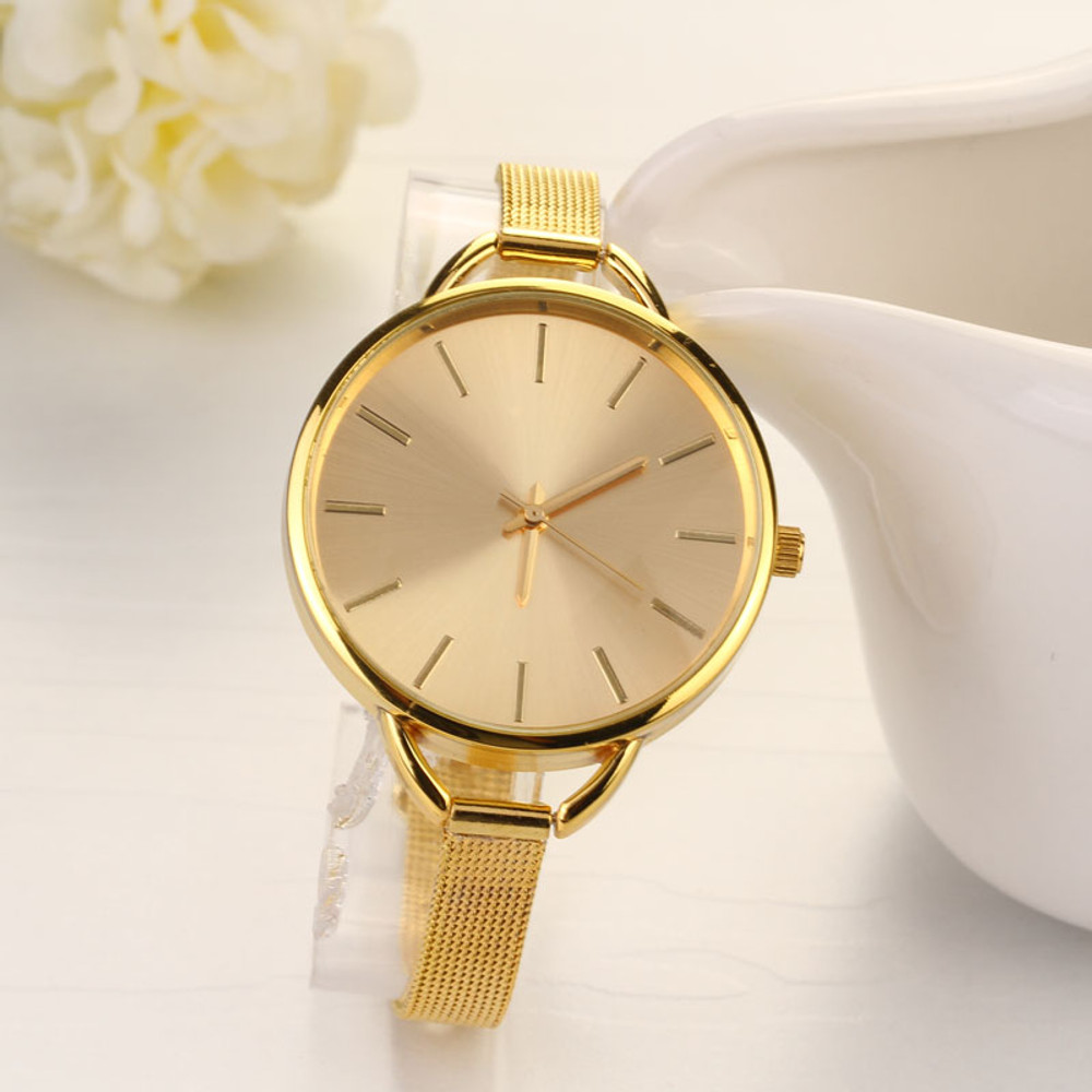 Boss Lady 14k Gold Watch