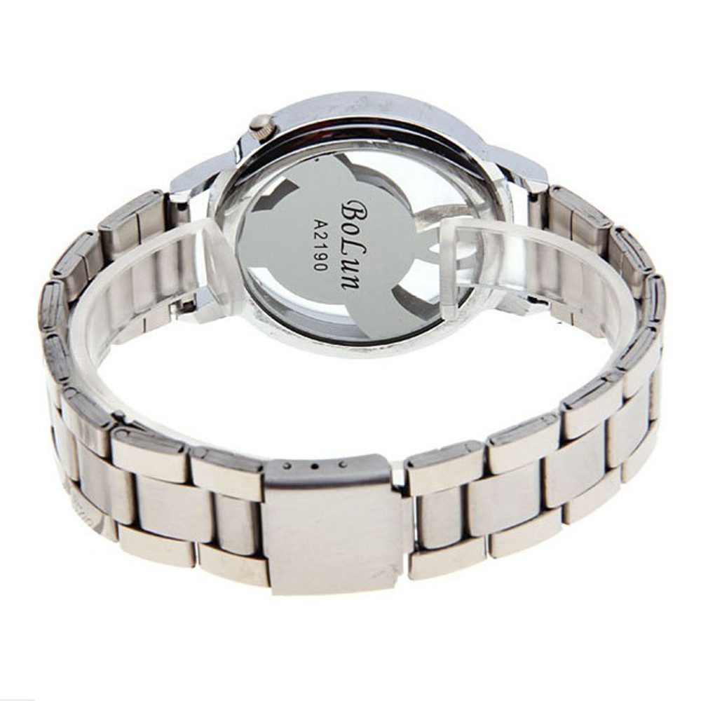 Music Lover Note Music Notation Stainless Steel Wristwatch