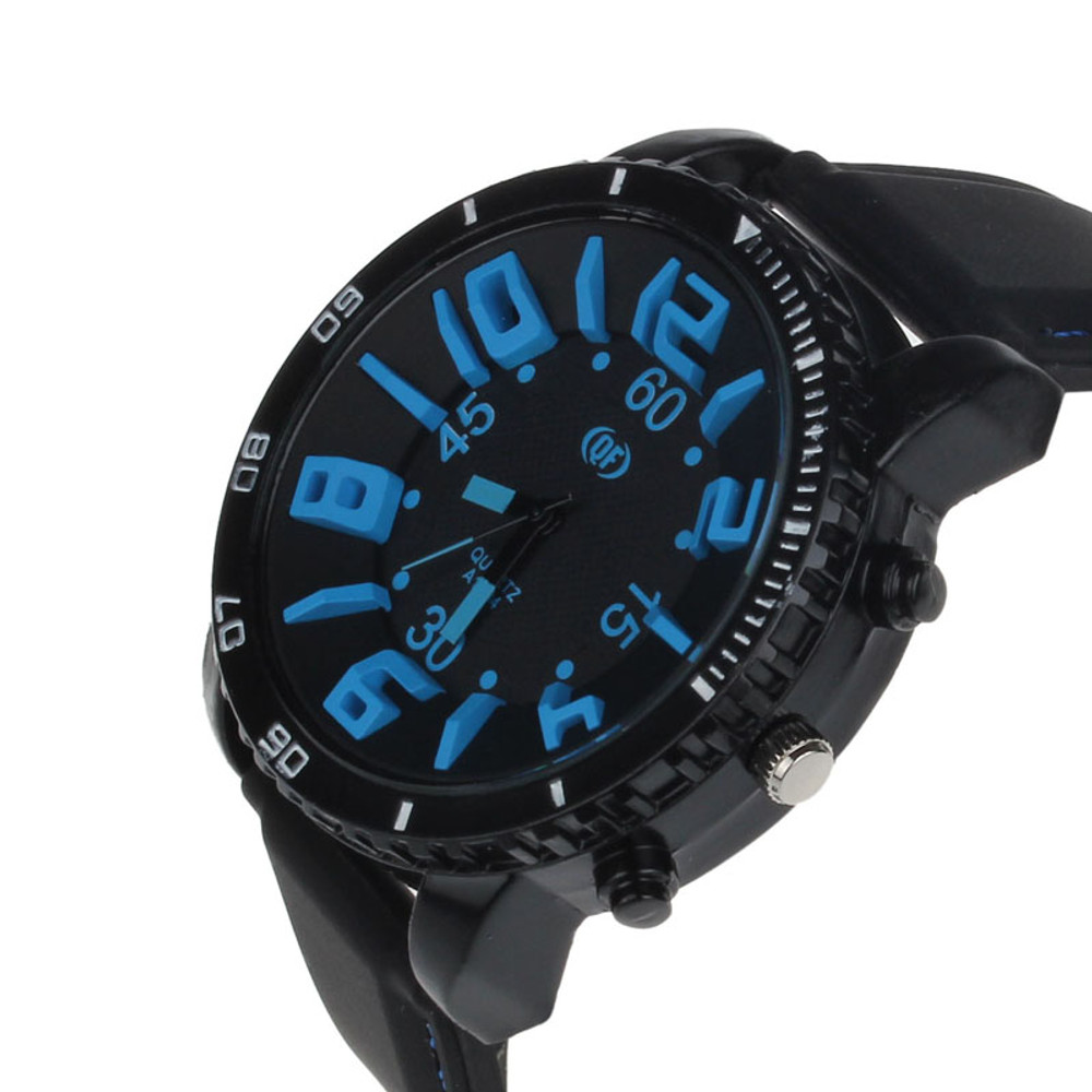 Blue Dial Watch