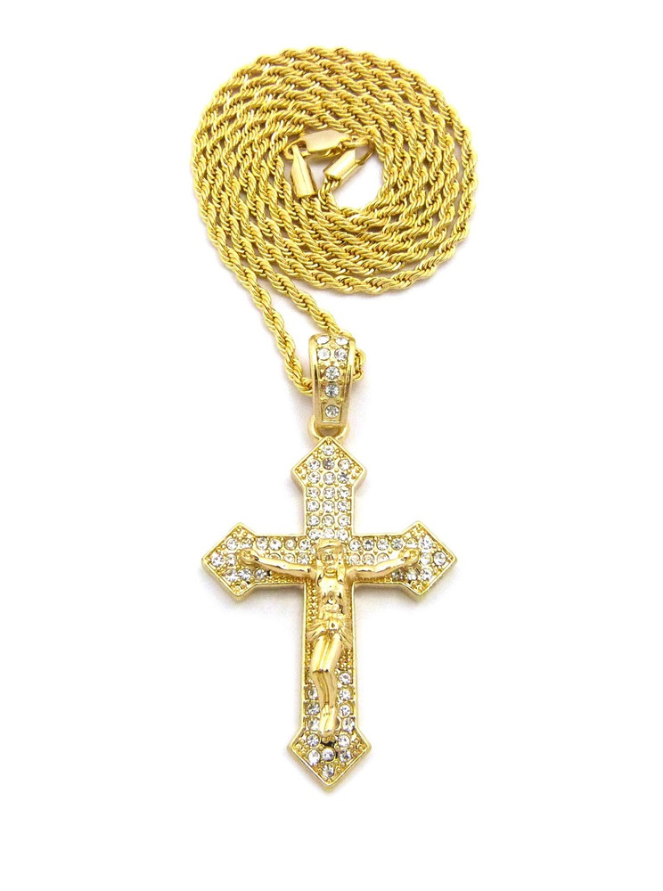 Arrow Cross Chain Necklace