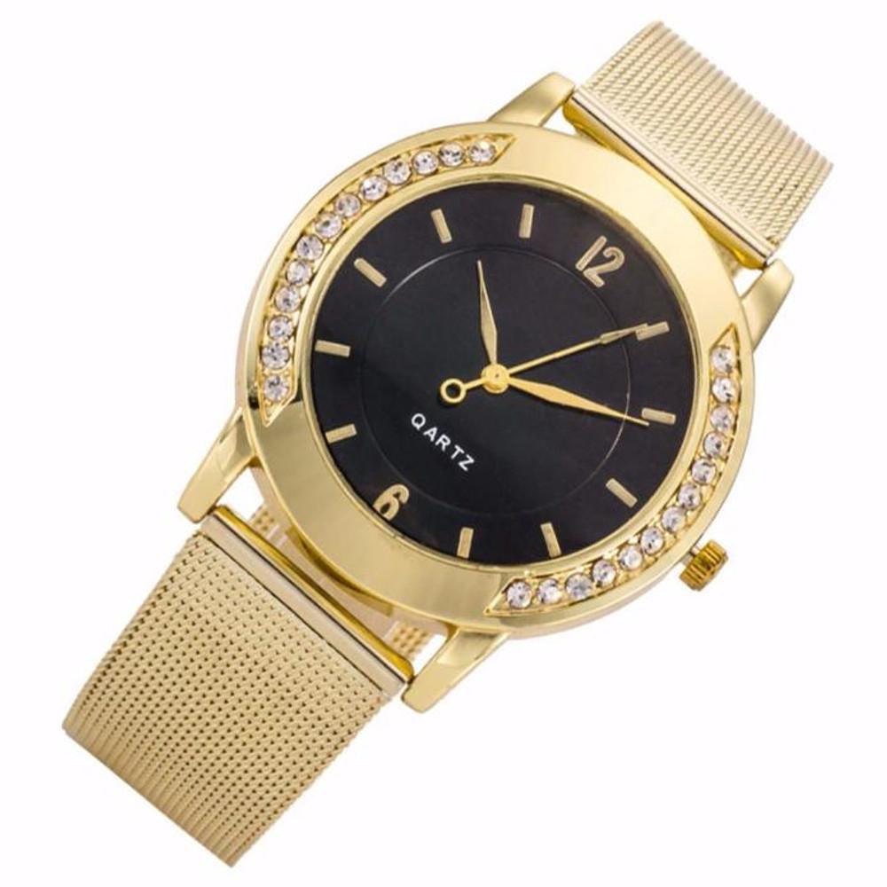 14k gold Ladies fashion watch