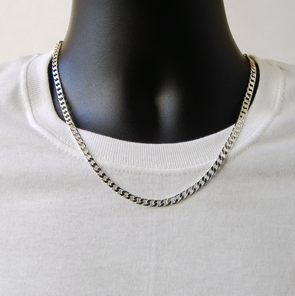 Classic Cuban Link Chain Necklace