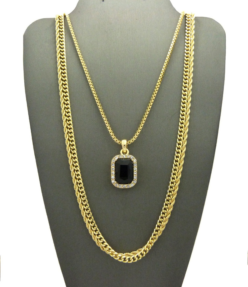 onyx pin chains necklace products and moon black
