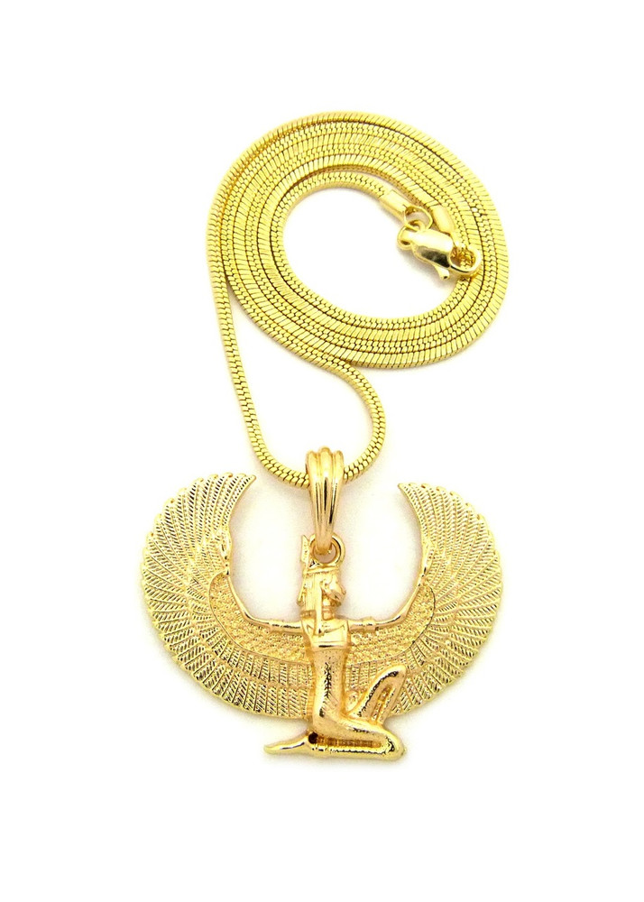 egyptian filigree nefertiti pendants necklace pendant gold queen