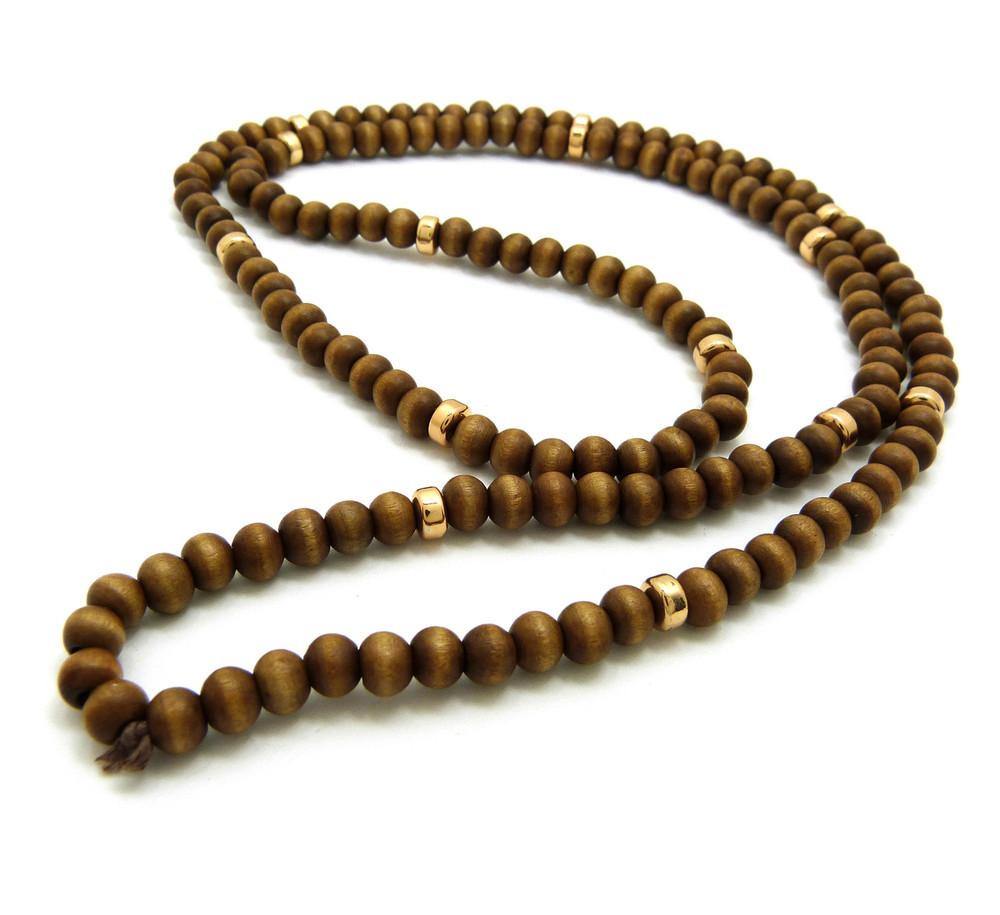 Wooden Bead Chain
