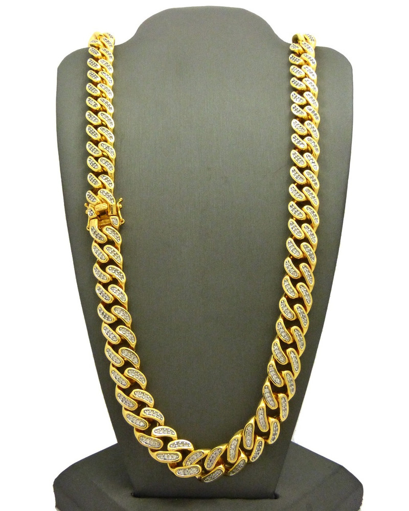 Mens  Iced Out Chains