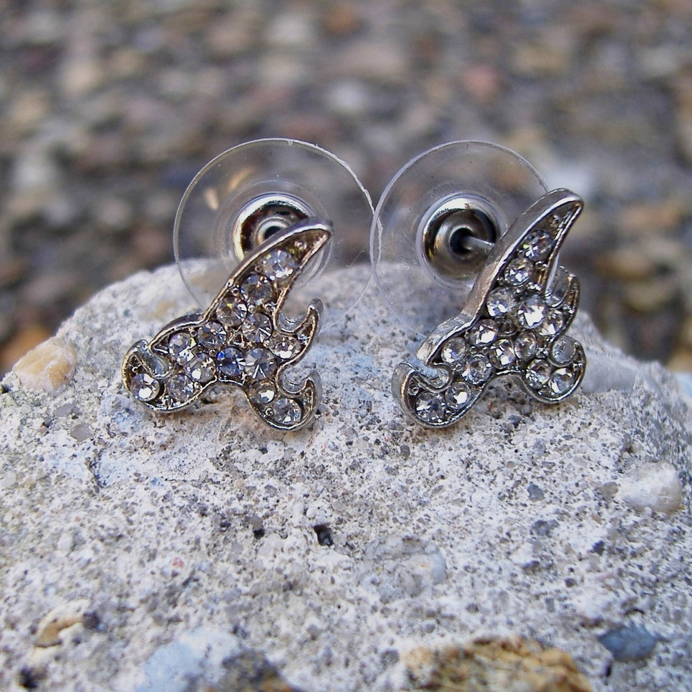 Initial A Earrings