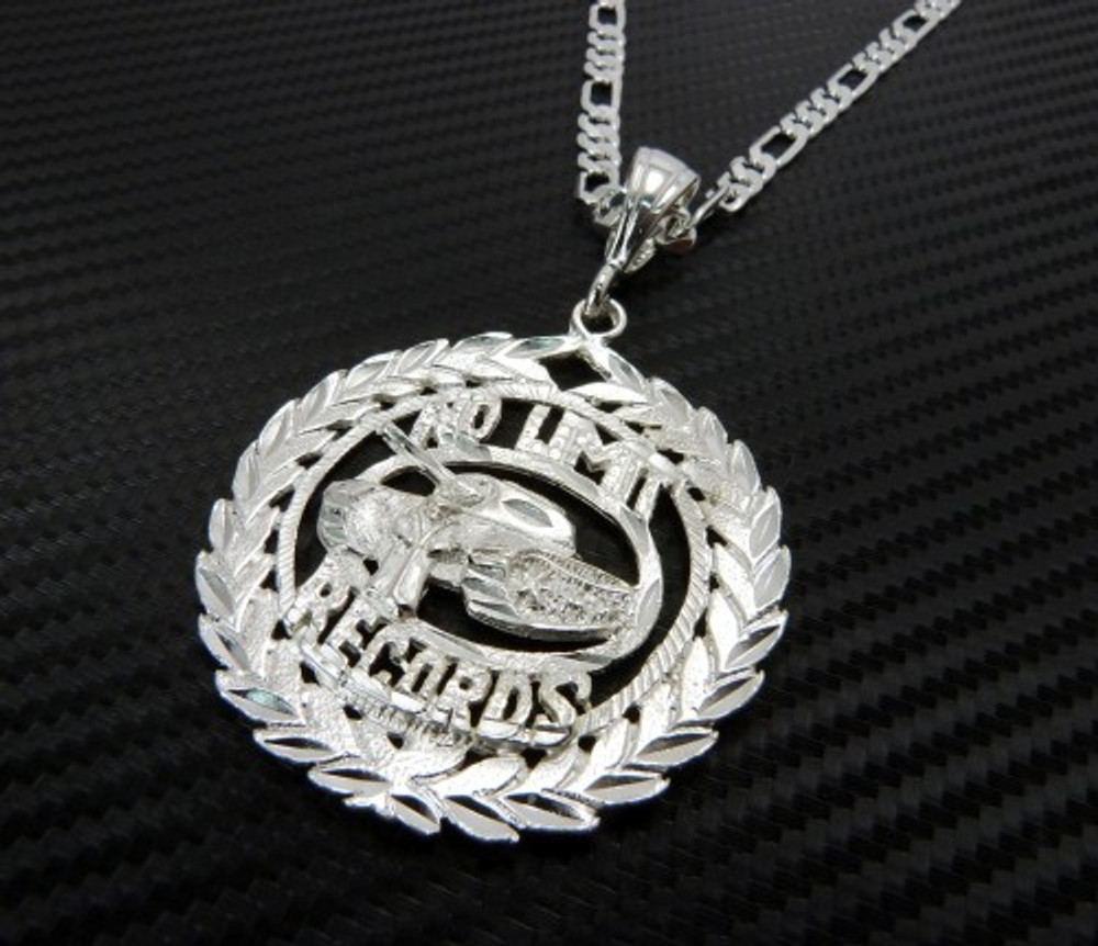 No Limit Tank Soldier Hip Hop Wreath Pendant Chain