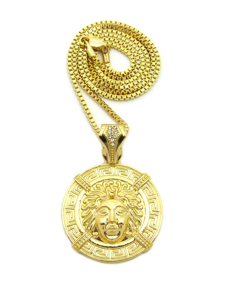 item accessories in aliexpress for pattern jewelry real medallion from chain pendant mens rope on pyramid gold com necklaces necklace inches men tone