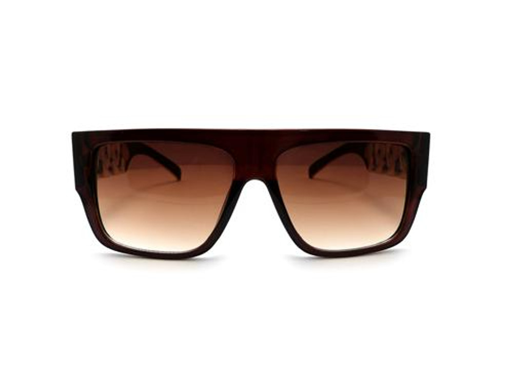 Celebrity Lil Wayne Inspired Stunna Shades Sunglasses Brown