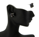 Black Iced Out Earrings