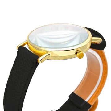 Pastorale Floral Leather Wrist Watch
