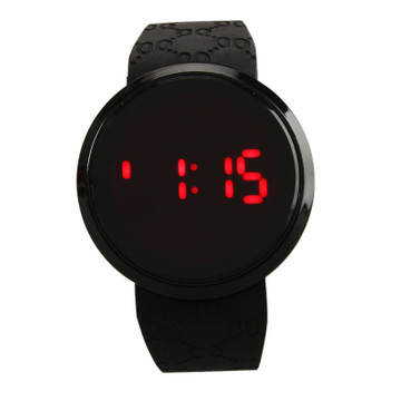 LED Touch Screen Men's Silicone Band High Fashion Watch