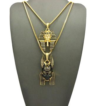 14k Gold King Tut