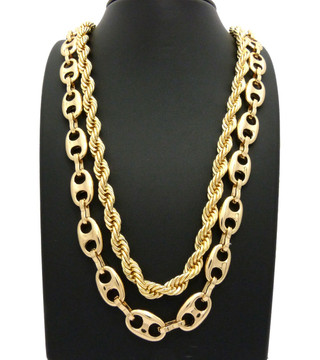 Gold Gucci Link