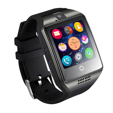 Thin Curved Surface Display Bluetooth Smart Watch Camera