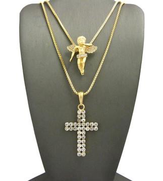 Golden Angel Pendant