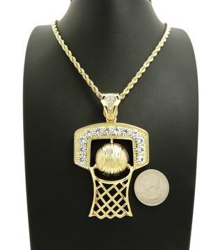 Diamond Basketball Chain