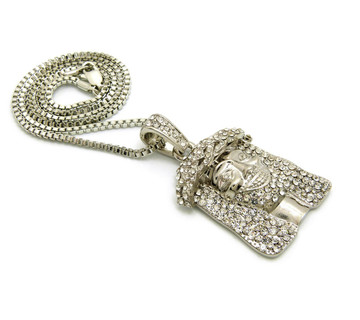 Hip Hop Jesus Piece Chain 2
