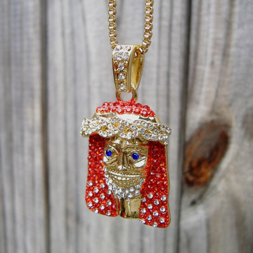 14k Gold lil Yachty Inspired Pendant