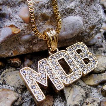 MOB Money Over Bitches Hip Hop Pendant