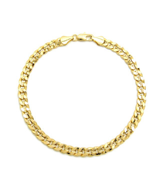 14k Gold Chain Ankle Bracelet