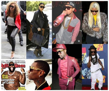 Celebrity Fashion Tyga Inspired Style Stunna Shades Sunglasses Clear