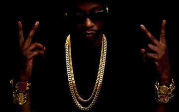 "Hip Hop 2 Chainz Style 30"" 36"" Miami Cuban Chain Silver Set"