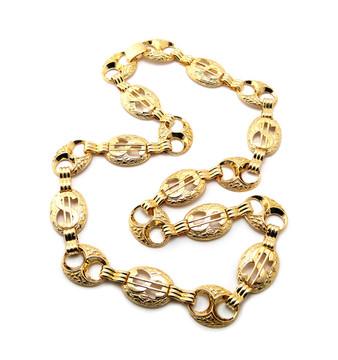 Hip Hop Dollar Sign Cash Money Bling Chain Necklace