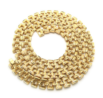 30 Inch Long Mens Hip Hop Old School Rollie Chain Necklace