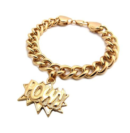 of plated men thai sandblasted picture chain big durable gold bracelet s women cuban p