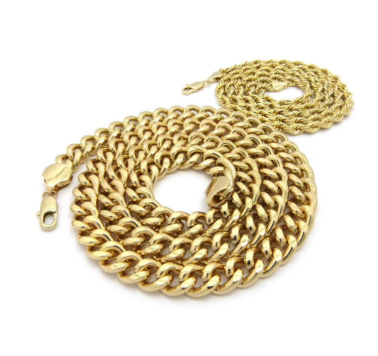 14k Gold Hip Hop Chain
