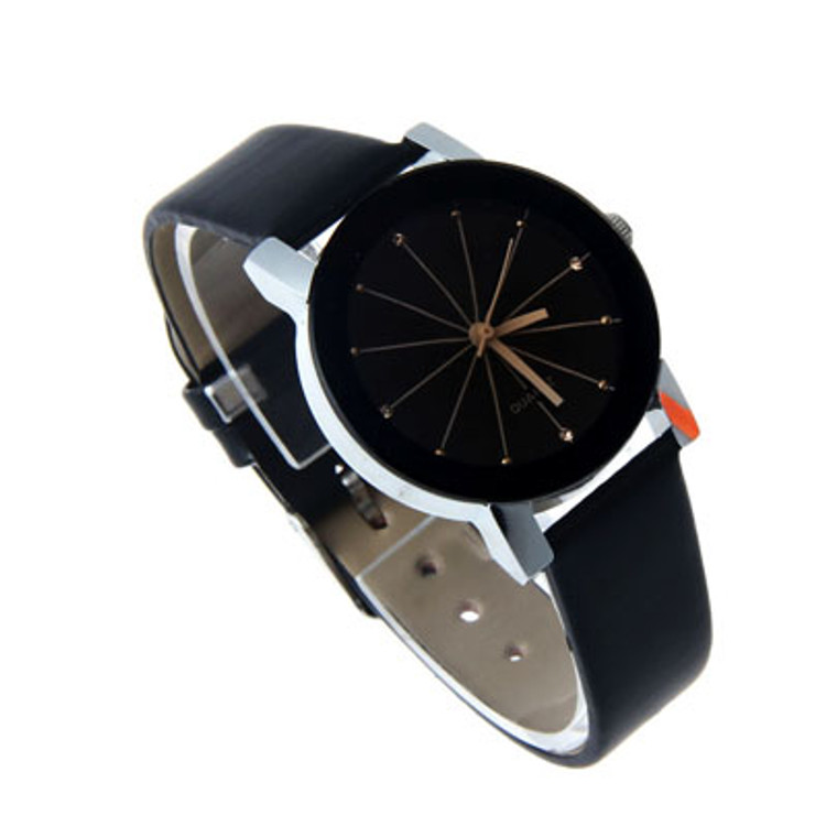 Ladies Black on Black Business Casual Watch