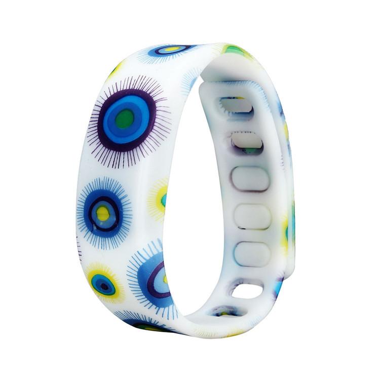 Womens Rubber LED Watch Date Sports Bracelet Digital Wrist Watch