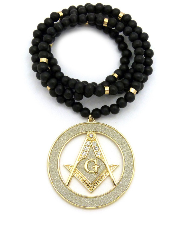 Masonic Compass Pendant