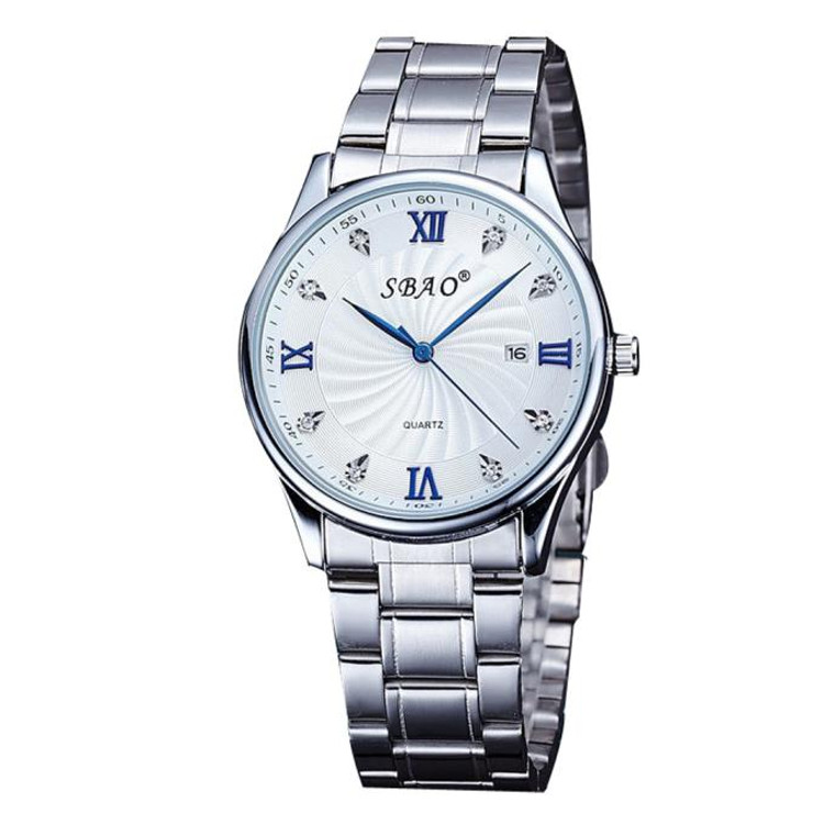Stainless Steel Fashion Men's  High Class Analog Wrist Watch