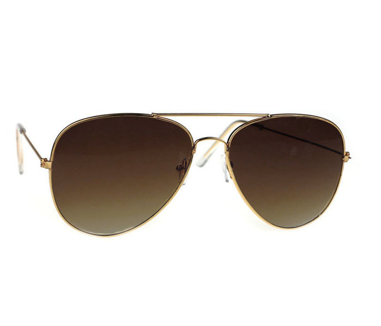 Advanced Atmospheric Classic Metal Designer Sunglasses + Case