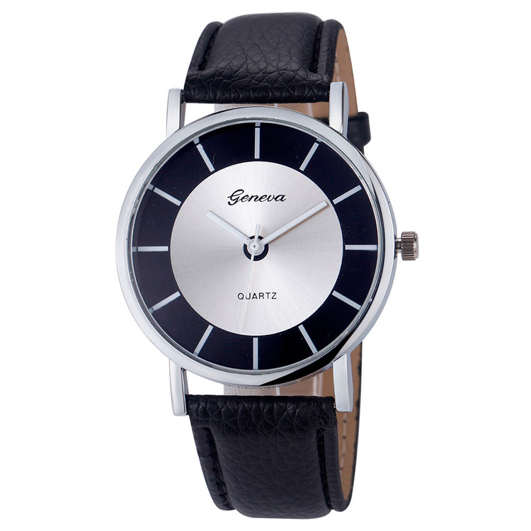Women Fashion Retro Dial Leather Wrist Watch