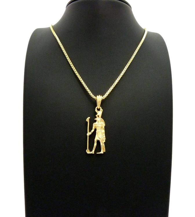 14k Gold Horus Chain