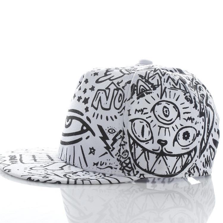 All Seeing Eye Snapack Fashion Flat Bill Hat