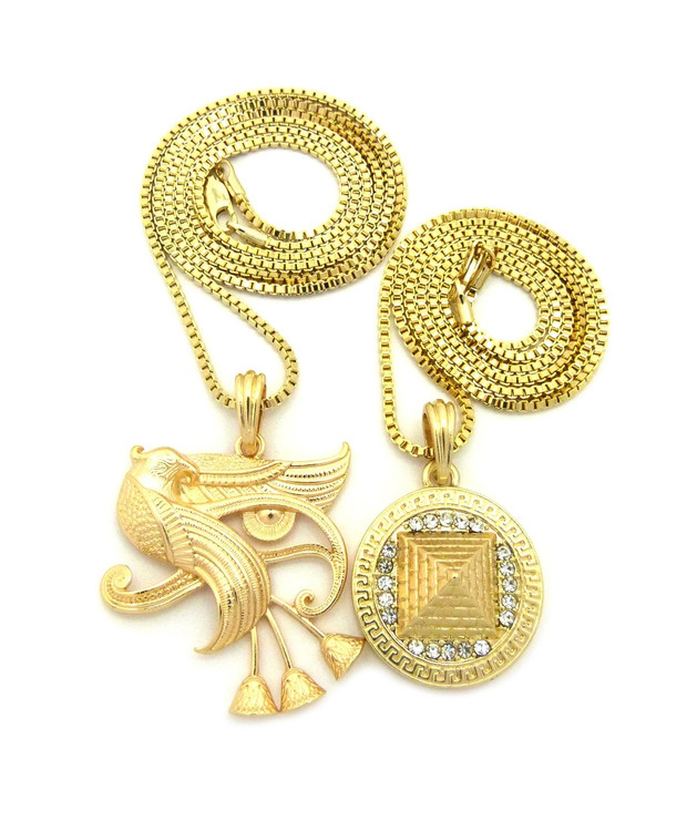 Gold Eye Or Horus Chain