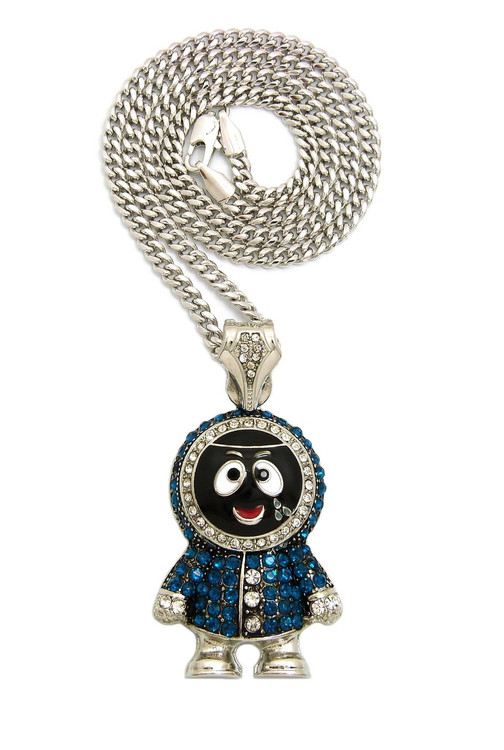 Iced Out Kenny Inspired Pendant