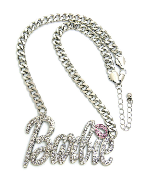 Silver Barbie Chain Necklace
