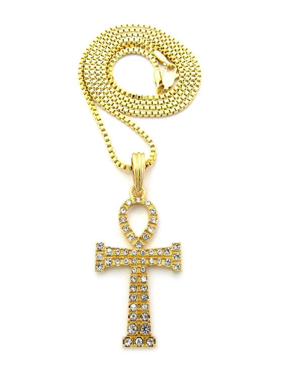 14k Gold Ankh Cross