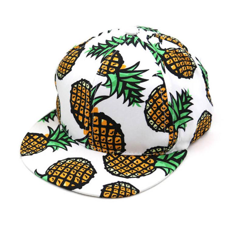 Pineapple Snapback Hat
