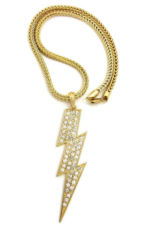 Ladies Lightning Bolt Chain