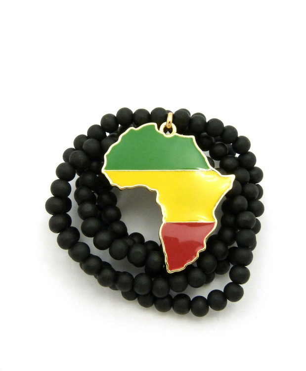 Mother Africa Continent Chain