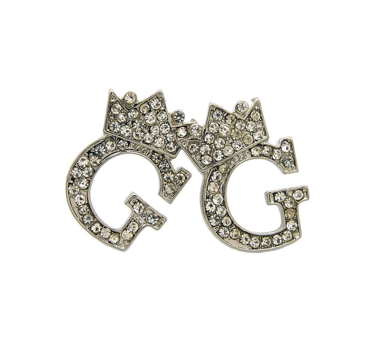 Initial G Earrings
